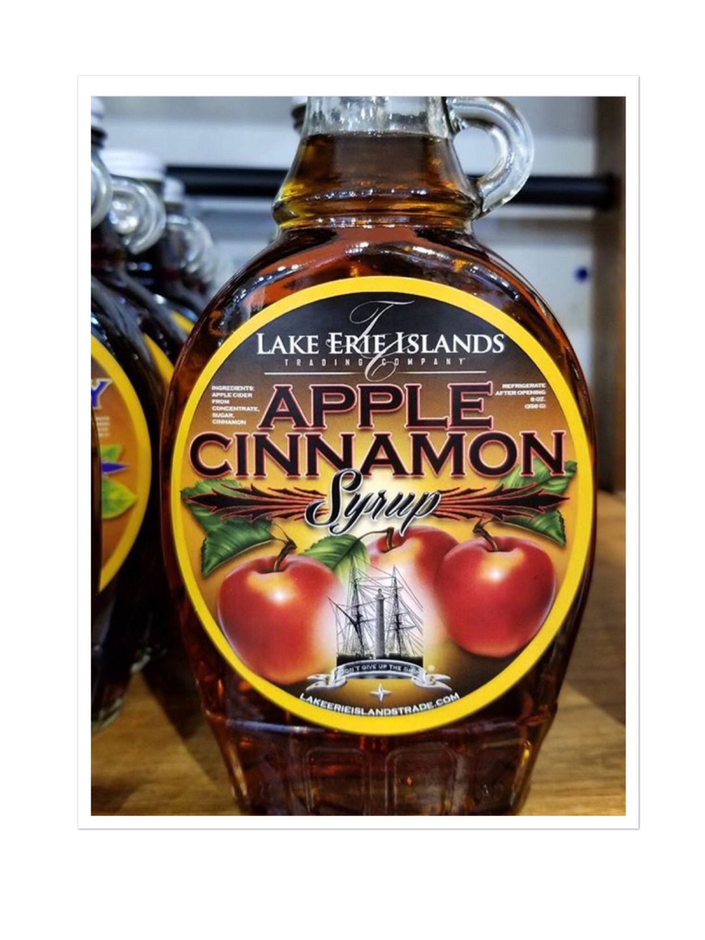 Apple Cinnamon Syrup 8 oz - Celebrate Local, Shop The Best of Ohio