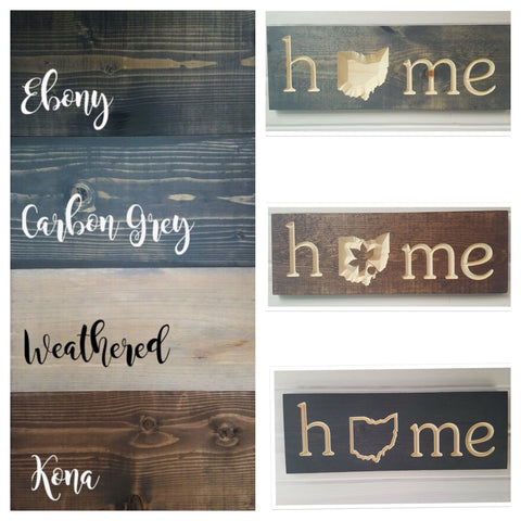 Ohio Home Wood Wall Hanging  (Variety of Styles) - Celebrate Local, Shop The Best of Ohio
