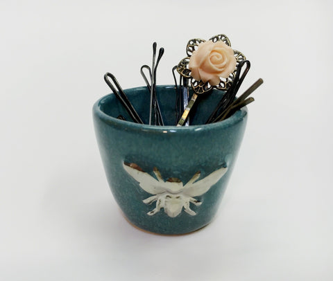Silver Bee Ceramic Bowl - Celebrate Local, Shop The Best of Ohio