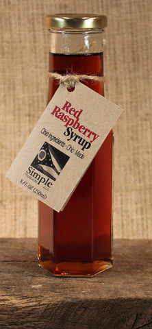 Red Raspberry Syrup (8oz) - Celebrate Local, Shop The Best of Ohio