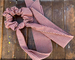 Scrunchie with Long Tie (Variety of Patterns) - Celebrate Local, Shop The Best of Ohio