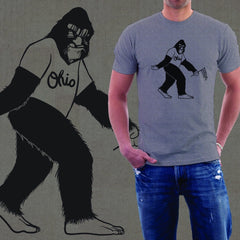 Big Foot Ohio T-Shirt - Celebrate Local, Shop The Best of Ohio
