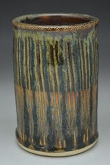 Faceted Hand Thrown Ceramic Wine Chiller - Celebrate Local, Shop The Best of Ohio