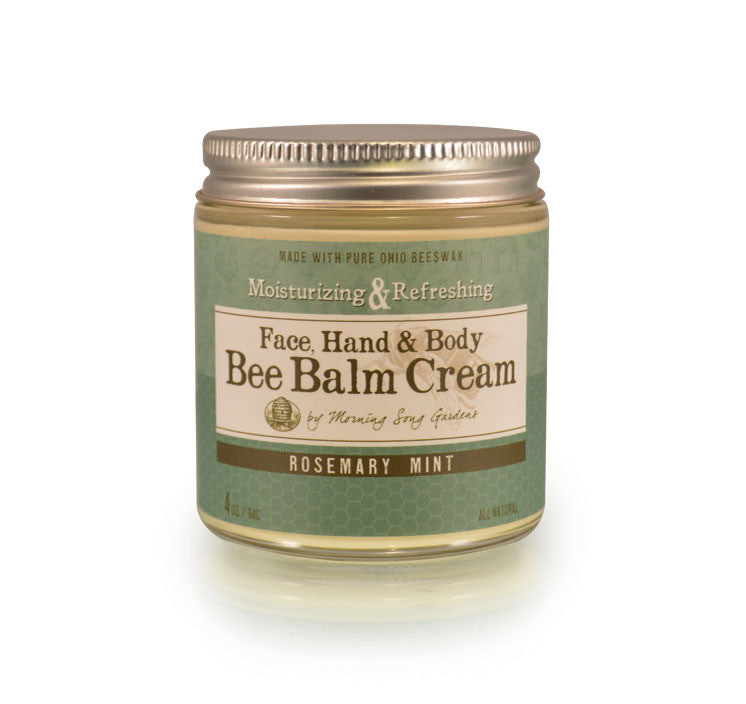 Bee Balm Cream -  Rosemary Mint 2 oz - Celebrate Local, Shop The Best of Ohio