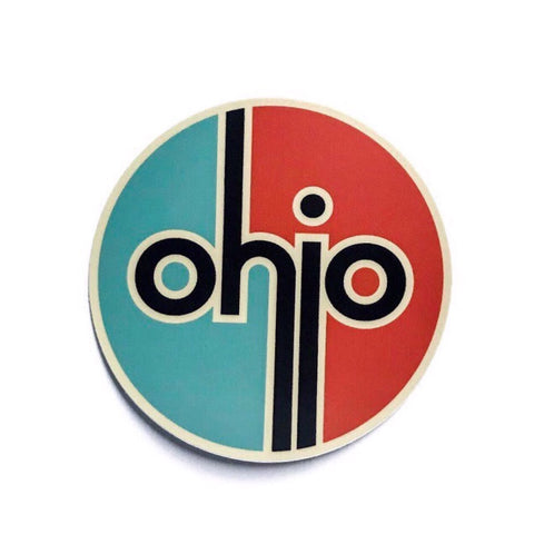 Ohio Custom Designed Sticker - Celebrate Local, Shop The Best of Ohio
