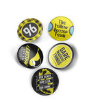 Columbus Crew Supporter Button Set - Celebrate Local, Shop The Best of Ohio
