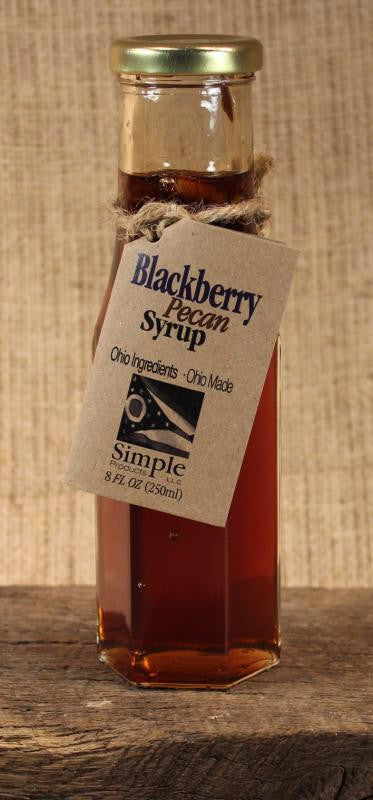 Blackberry Pecan Syrup (8 oz) - Celebrate Local, Shop The Best of Ohio