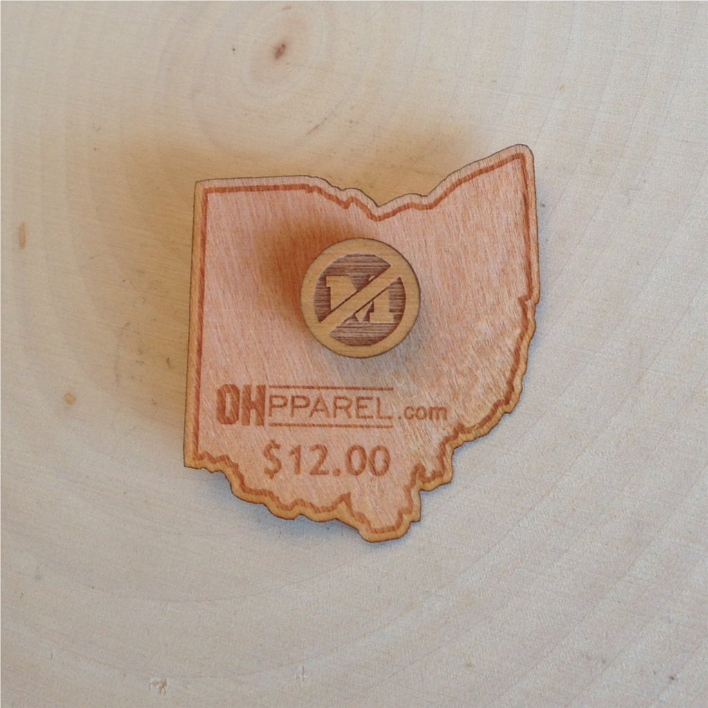 No Michigan Tie Tack/Pin - Celebrate Local, Shop The Best of Ohio