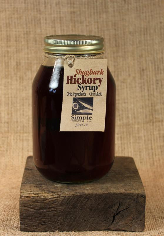 Shagbark Hickory Syrup (32oz) - Celebrate Local, Shop The Best of Ohio