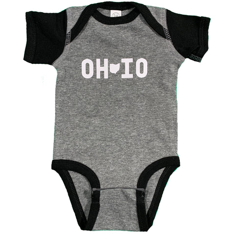 OH IO Onesie - Celebrate Local, Shop The Best of Ohio