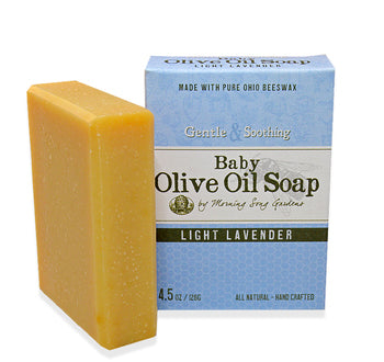 Baby Olive Oil Soap - Light Lavender (4.5 oz.) - Celebrate Local, Shop The Best of Ohio