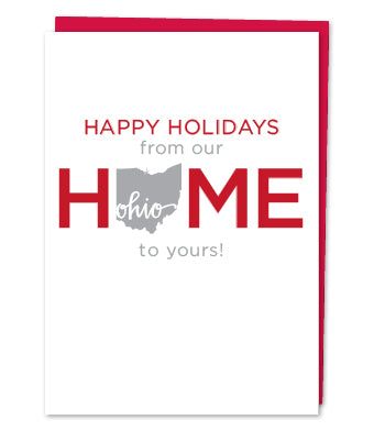 Ohio Holiday Greeting Card (Variety of Images)