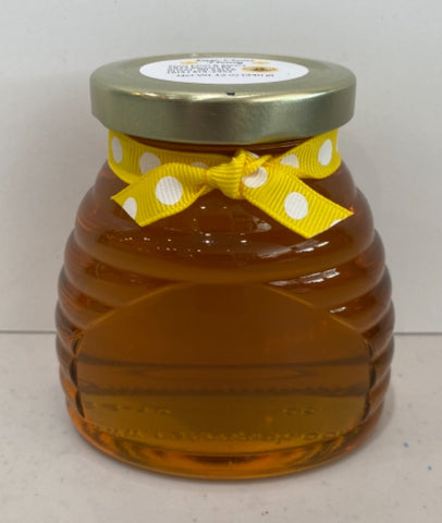 Raw Clover Hoey in a Hive Jar 12 oz