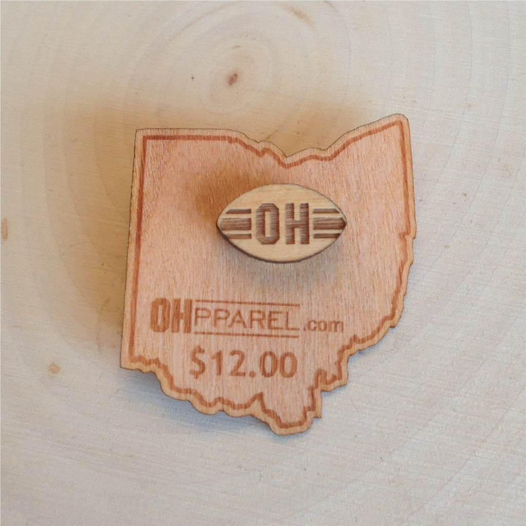 OH Football Tie Tack/Pin - Celebrate Local, Shop The Best of Ohio