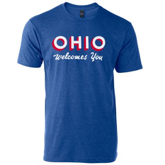 Ohio Welcomes You - Unisex  T-Shirt - Celebrate Local, Shop The Best of Ohio