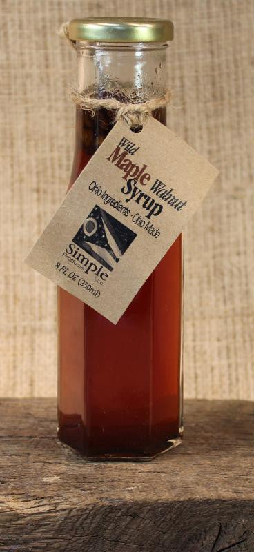 Wild Maple Walnut Syrup (8oz) - Celebrate Local, Shop The Best of Ohio