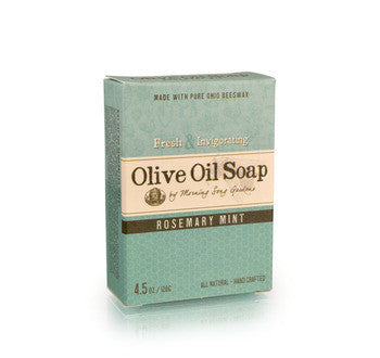Rosemary Mint Olive Oil Soap (4.5 oz.) - Celebrate Local, Shop The Best of Ohio