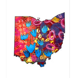 Ohio Hand Designed Note Cards Pack of 8 (Variety of Images) - Celebrate Local, Shop The Best of Ohio