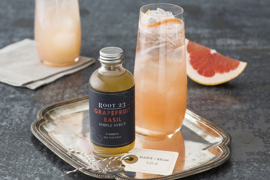 Grapefruit Basil Simple Syrup - 4oz - Celebrate Local, Shop The Best of Ohio