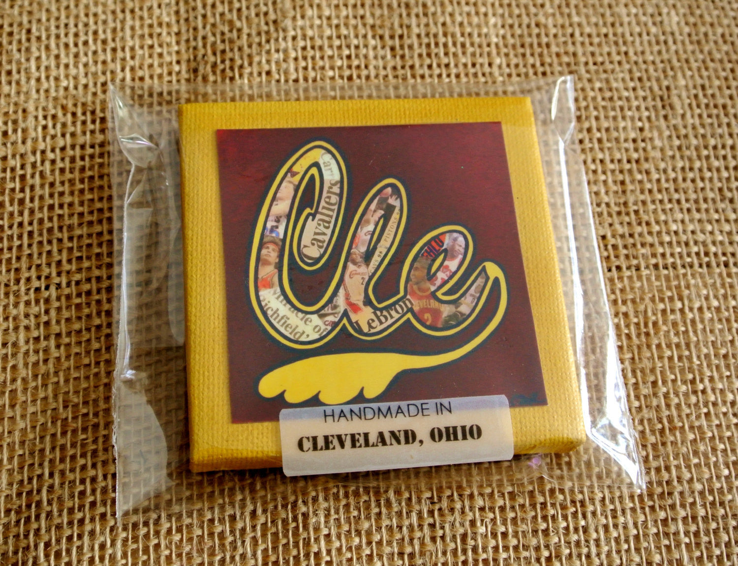 Cleveland Cavaliers Retro Magnet - Celebrate Local, Shop The Best of Ohio