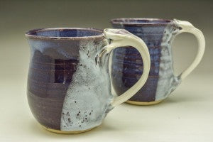 Majestic Purple Hand Thrown Ceramic Mug - Celebrate Local, Shop The Best of Ohio