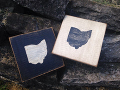 State of Ohio Wood Scrabble Coaster - Celebrate Local, Shop The Best of Ohio