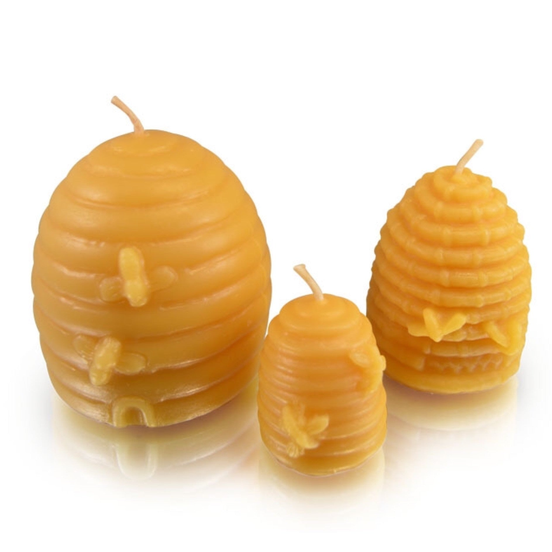Bee Hive Beeswax Candle - Small - Celebrate Local, Shop The Best of Ohio