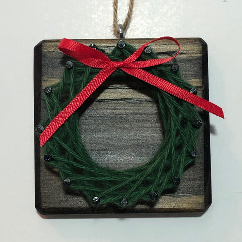 Holiday String Art Ornaments - Themed Designs - Celebrate Local, Shop The Best of Ohio
