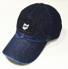 Ohio Washed Denim Hat - Celebrate Local, Shop The Best of Ohio