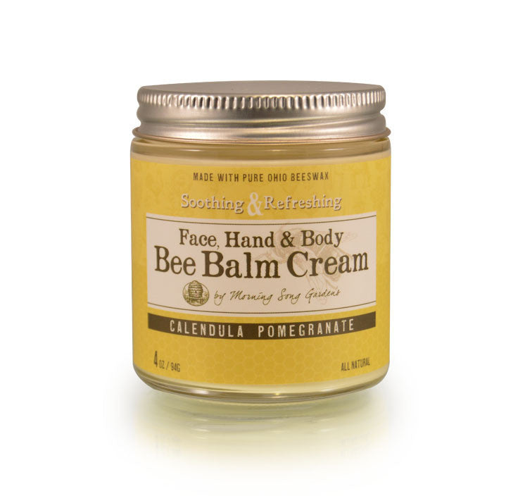Bee Balm Cream - Calendula Pomegranate 2 oz - Celebrate Local, Shop The Best of Ohio