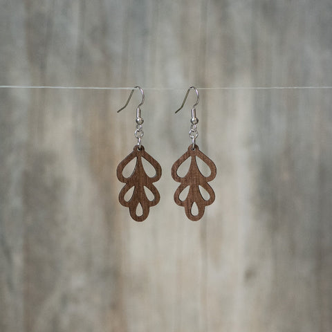 Natural Maple Willow Leaf Earring - Celebrate Local, Shop The Best of Ohio