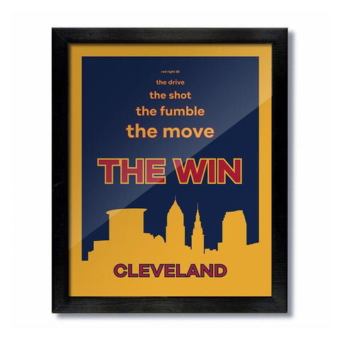The Win Cleveland Print - Celebrate Local, Shop The Best of Ohio