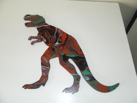 Pour Paint Dinosaur 19 in - Celebrate Local, Shop The Best of Ohio