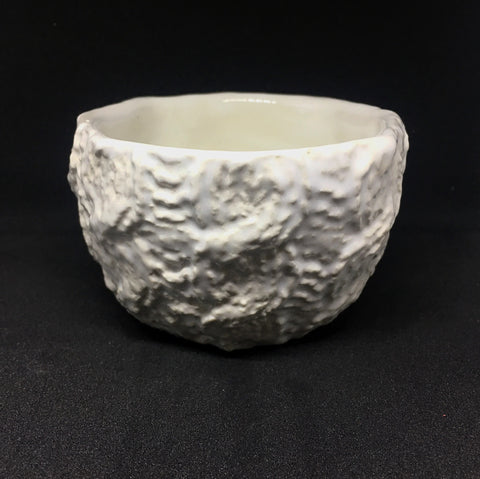 White Ceramic Knitted Mini Bowl - Celebrate Local, Shop The Best of Ohio