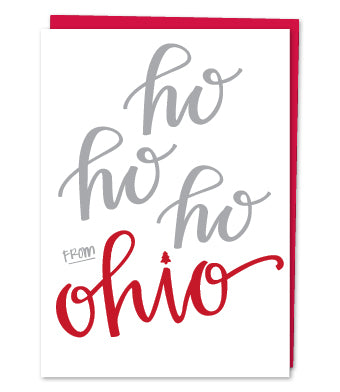 Ohio Holiday Greeting Card (Variety of Images) - Celebrate Local, Shop The Best of Ohio