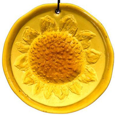 Sunflower - Recycled Glass Suncatcher - Celebrate Local, Shop The Best of Ohio