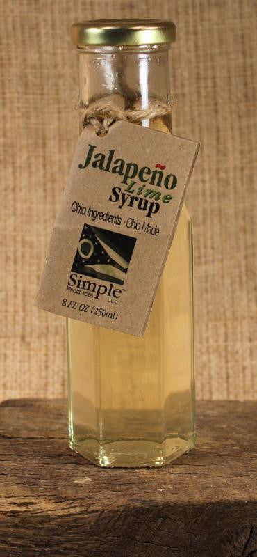 Jalapeno Lime Syrup (8oz) - Celebrate Local, Shop The Best of Ohio