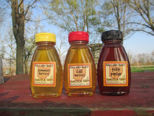 Honeyrun Raw Ohio Honey 16 oz - Celebrate Local, Shop The Best of Ohio - 1