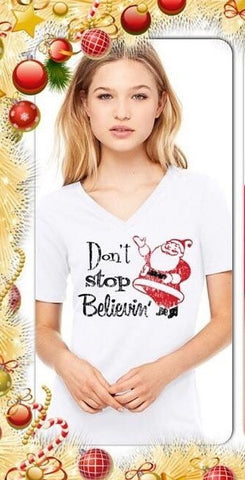 Dont Stop Believin' Unisex T-Shirt - Celebrate Local, Shop The Best of Ohio