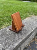 Adjustable Crafted Wood Electronic Tablet Stand - Choice Cherry or Walnut - Celebrate Local, Shop The Best of Ohio