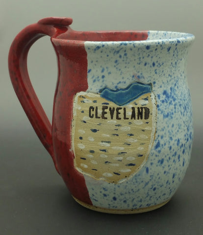 Cleveland Hand Thrown Ceramic Mug - Celebrate Local, Shop The Best of Ohio