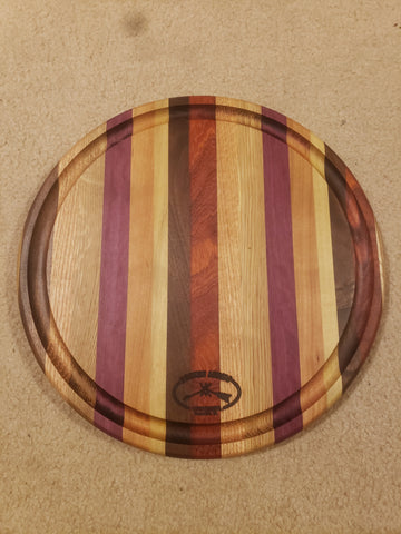 Round Wood Cutting Board - Celebrate Local, Shop The Best of Ohio