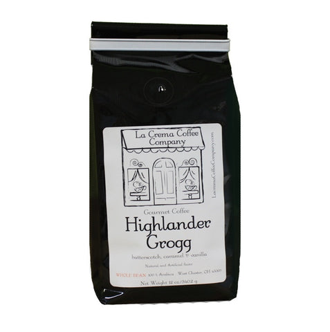 Highlander Grogg Coffee - Regular and Decaf