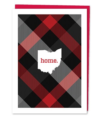 Ohio Heart Greeting Card (Variety of Images)