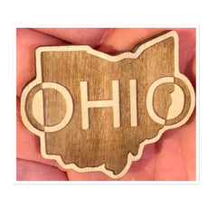 Ohio Wood Magnet (Various Styles) - Celebrate Local, Shop The Best of Ohio