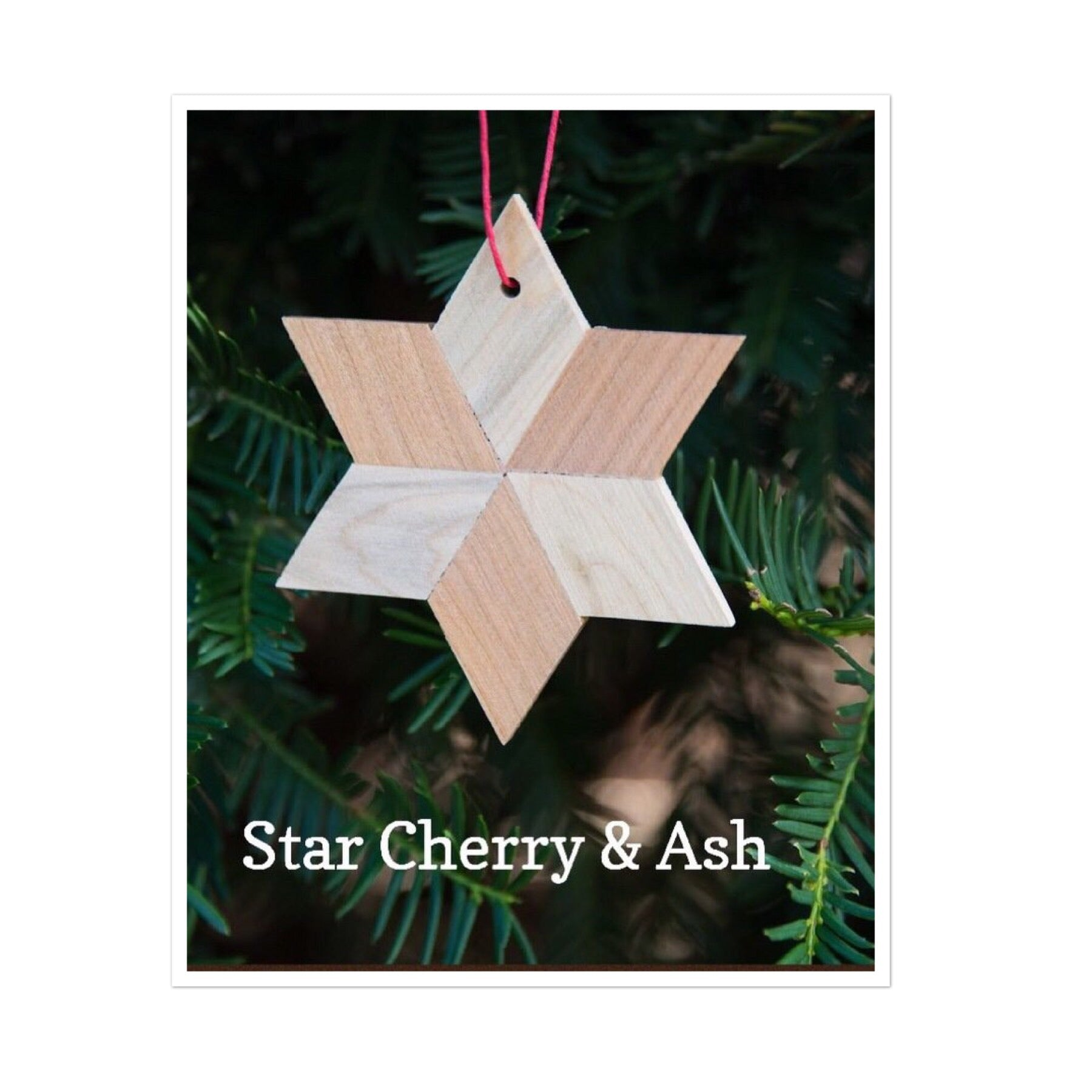 Star Shaped Wood Ornaments - Celebrate Local, Shop The Best of Ohio