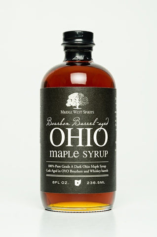 OYO Bourbon Barrel Aged Ohio Maple Syrup 8 oz - Celebrate Local, Shop The Best of Ohio