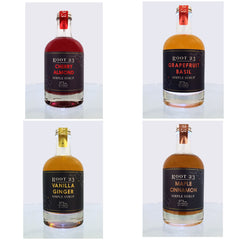 Root 23 Simple Syrup Holiday Sampler Gift Pack - Celebrate Local, Shop The Best of Ohio - 1