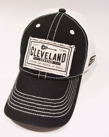 Cleveland Guitar Trucker Hat - Celebrate Local, Shop The Best of Ohio