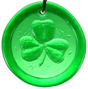 Shamrock - Recycled Glass Suncatcher - Celebrate Local, Shop The Best of Ohio